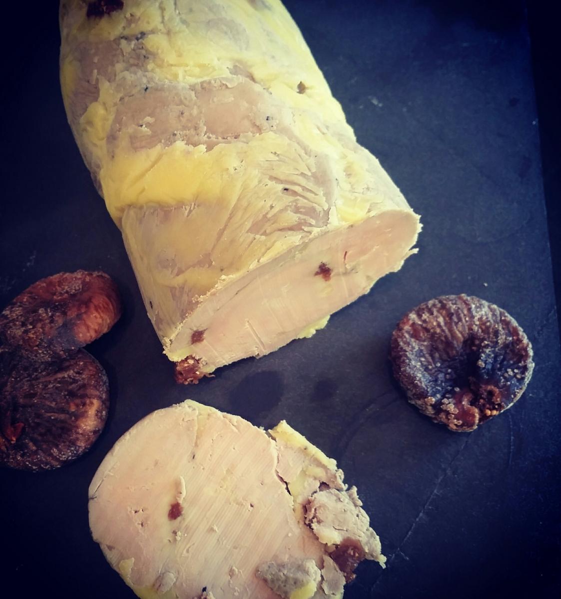 Foie gras aux figues cuit a la vapeur